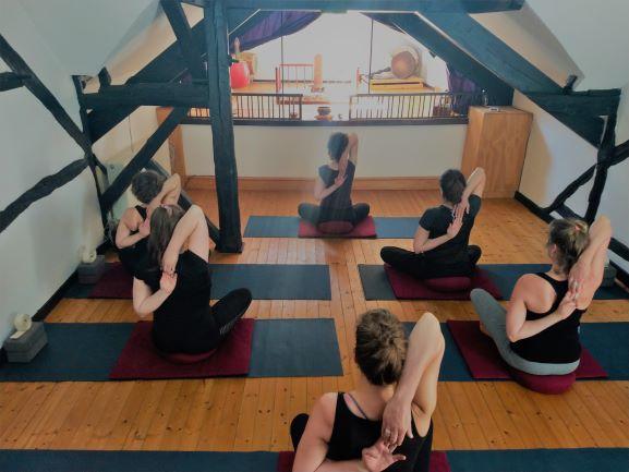 Yoga-retreat-Belgische Ardennen 2